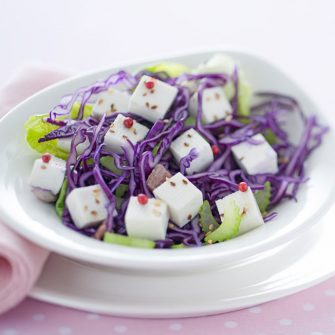 Crispy salad with Linea Osella